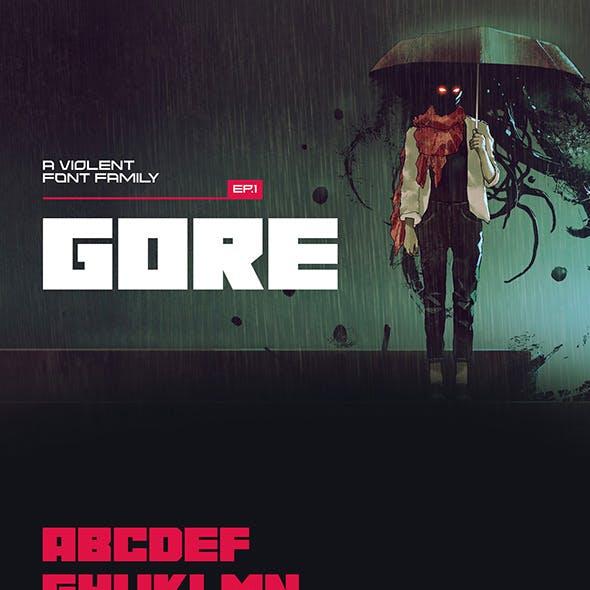 Gore Typeface