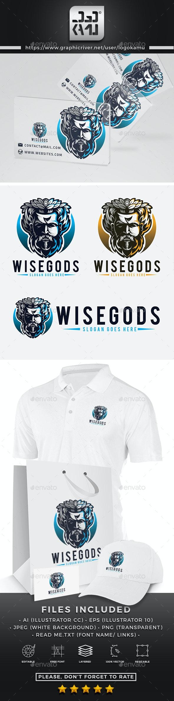 Wise Gods Logo - Humans Logo Templates