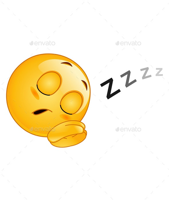 Sleeping Emoticon - People Characters