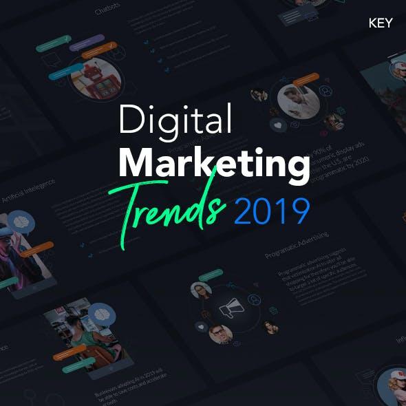 Digital Marketing 2019 - Keynote Template