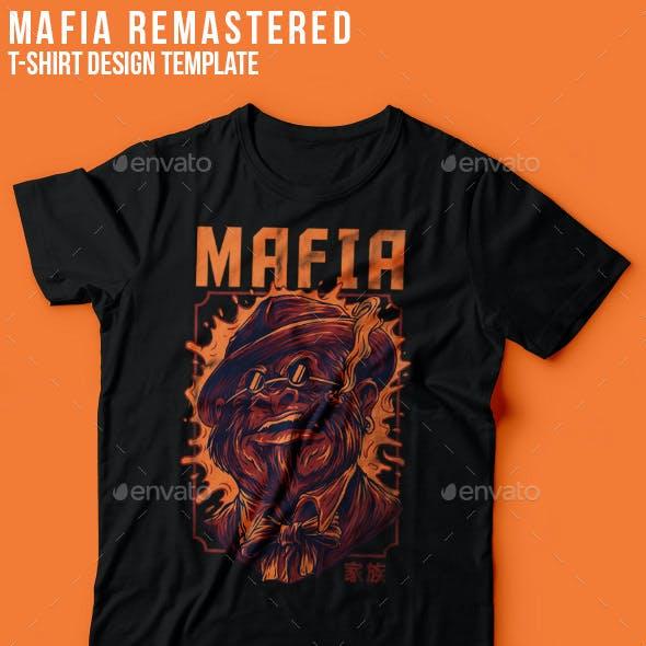 Mafia Remastered T-Shirt Design