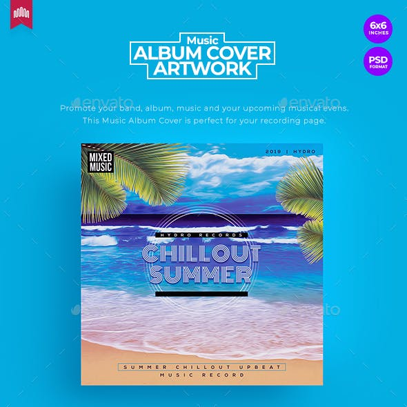 Chillout Summer - Music Album Cover