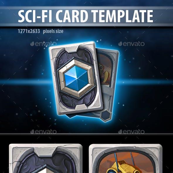 Sci-Fi Card Template