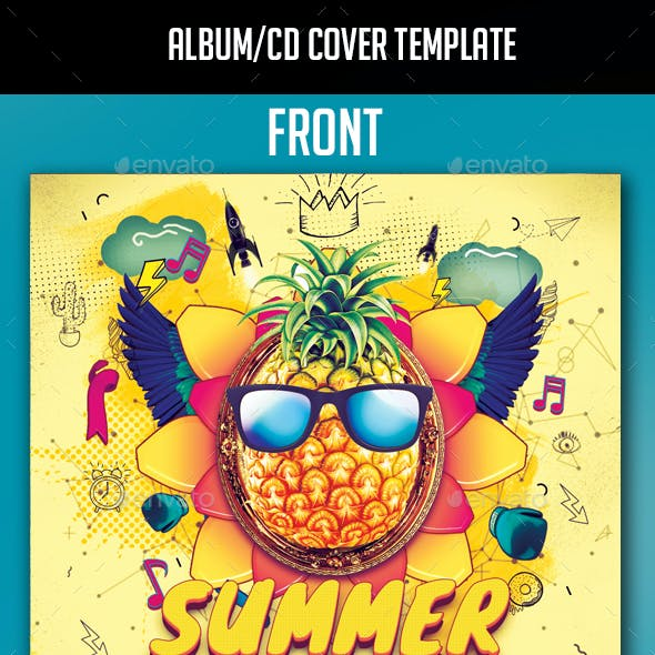 Summer Festival Album CD Cover