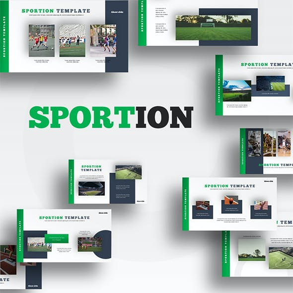 Sportion - Sporty PowerPoint Template