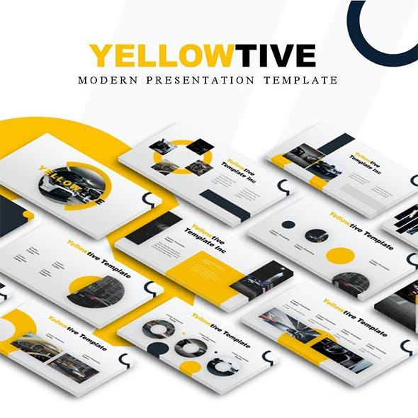 Yellowtive - Automotive PowerPoint Template