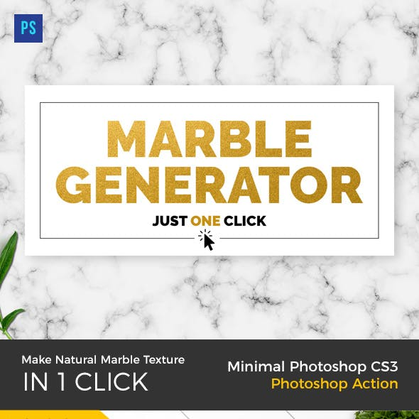 Marble Texture Generator PS Action