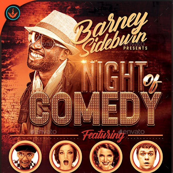Night of Comedy: Flyer Template