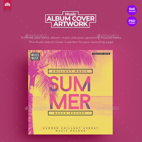 Summer Party - Music Album Cover Artwork