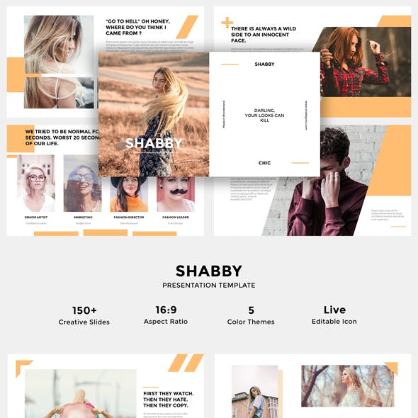 Shabby - Powerpoint Presentation Templates