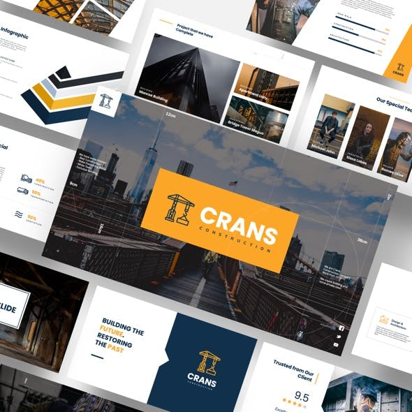 Crans - Construction & Industrial Keynote Template