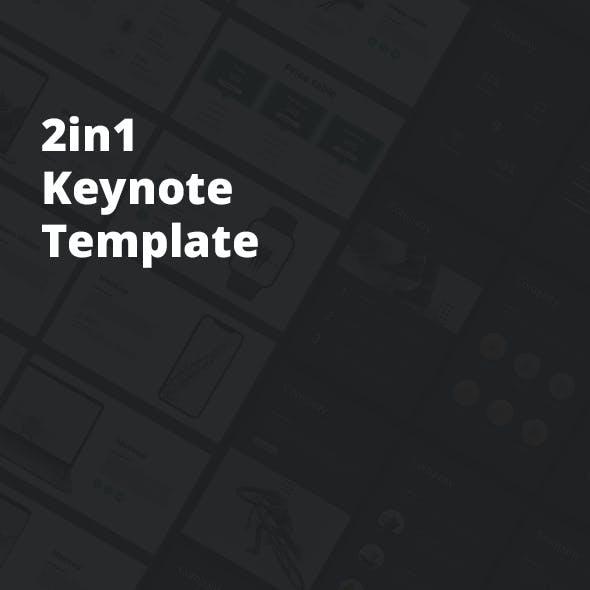 2in1 Keynote Bundle