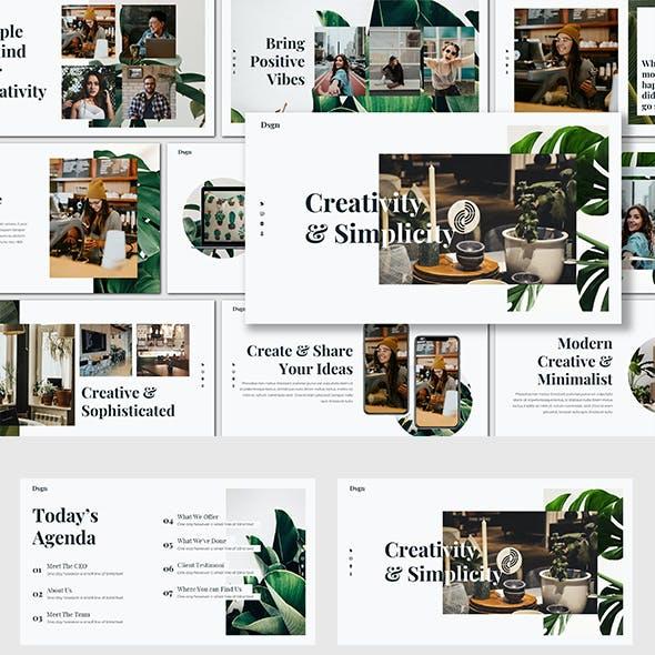 Dsgn - Creative Powerpoint Template