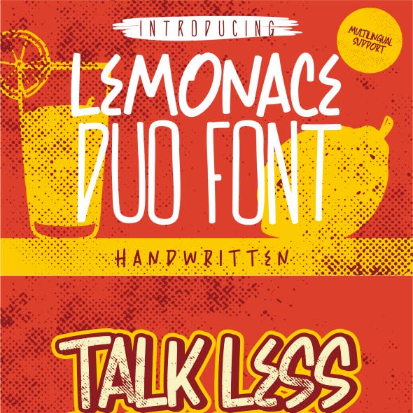 Lemonace Duo Font