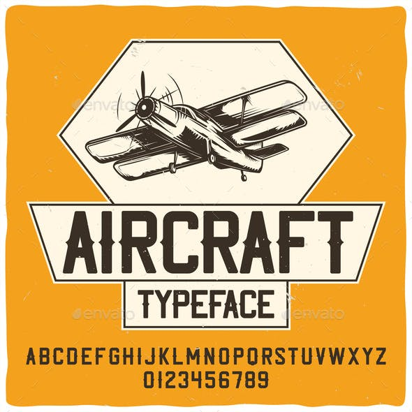 Aircraft and Typography