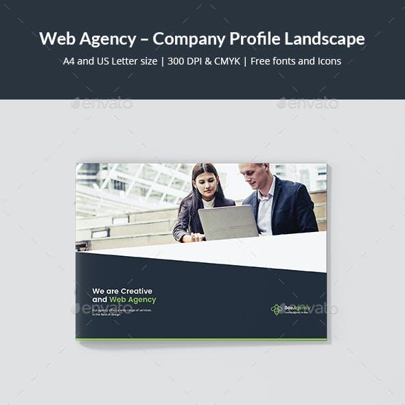 Web Agency – Company Profile Landscape