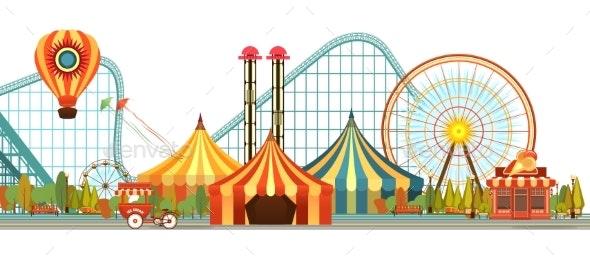 Amusement Park Circus - Landscapes Nature