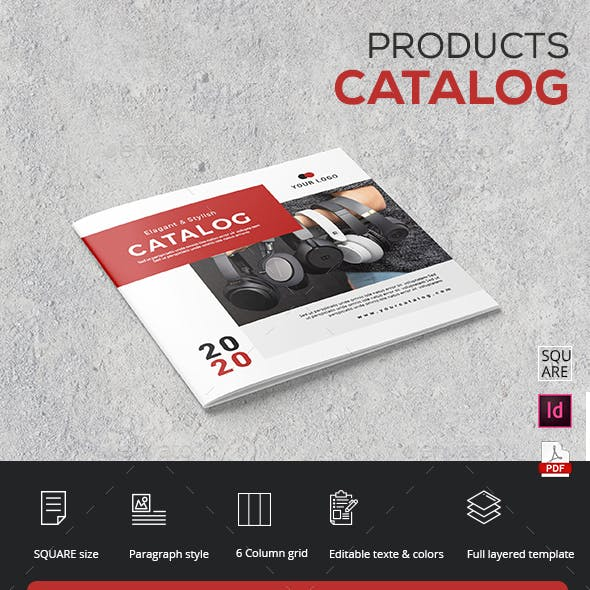 Square Catalog Products Brochure