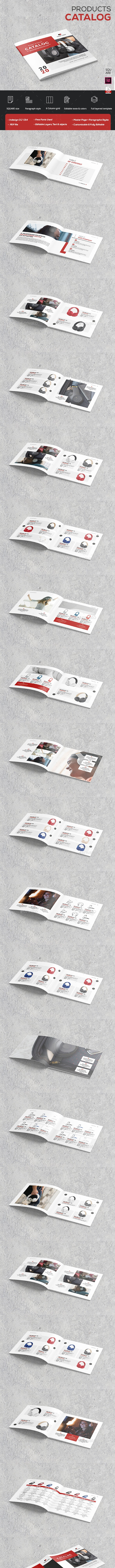 Square Catalog Products Brochure - Catalogs Brochures