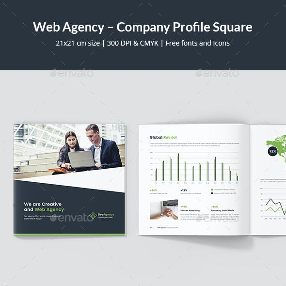 Web Agency – Company Profile Square