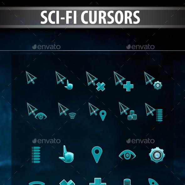 Sci-Fi Cursors Pack