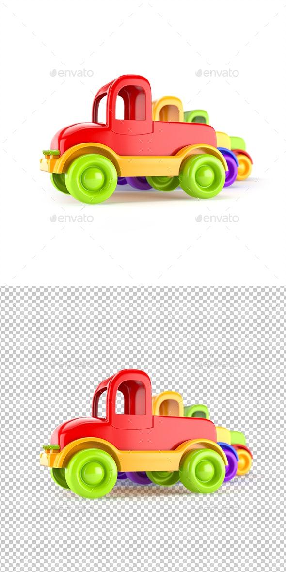 Car Toy Trucks - Objects 3D Renders