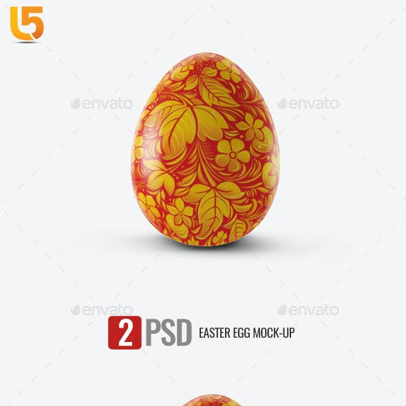 Easter Egg Mock-up