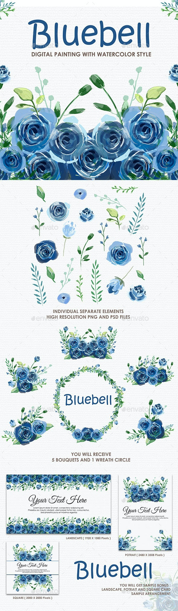27 Best Decorative Element Graphics & Template Vectors - GraphicRiver for September 2020