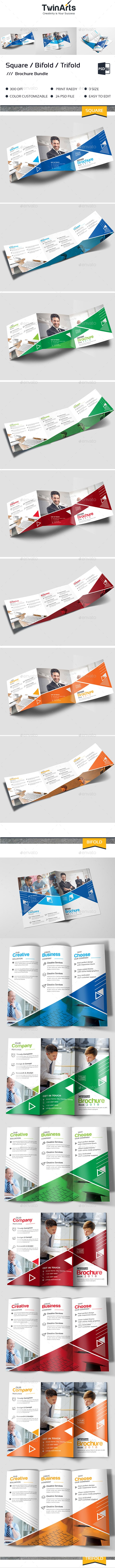 Trifold Bundle - Brochures Print Templates
