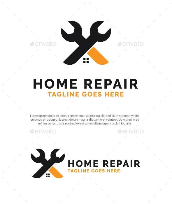 Home Repair Logo - Buildings Logo Templates