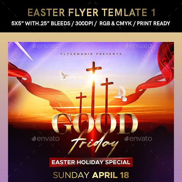 Easter Flyer Template 1