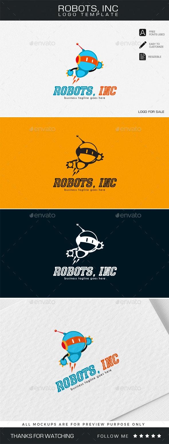 Robots, Inc Logo Template - Company Logo Templates