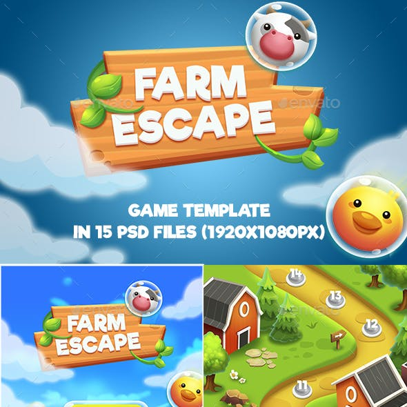 Farm Escape Shooter Game Pack