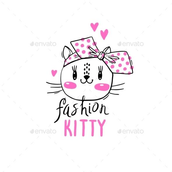 Fashion Kawaii Kitty - Animals Characters