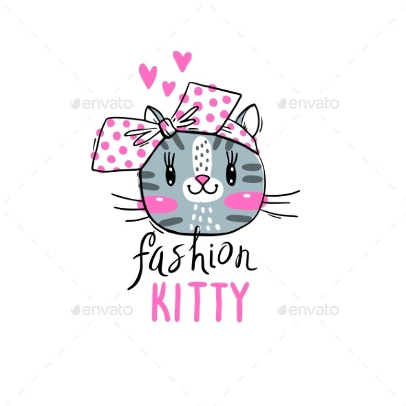 Fashion Kawaii Kitty - Animals Characters