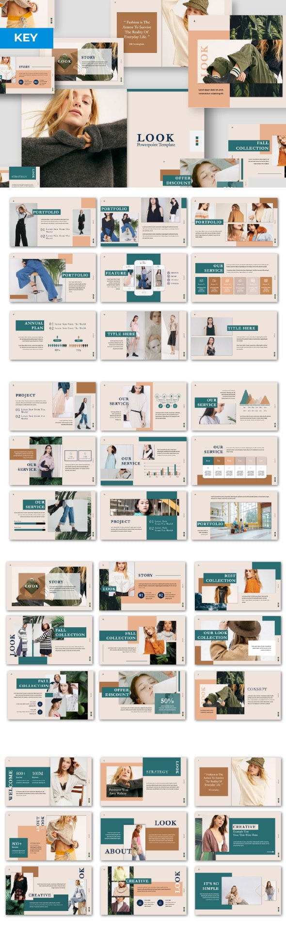 Look Google Slide - Google Slides Presentation Templates