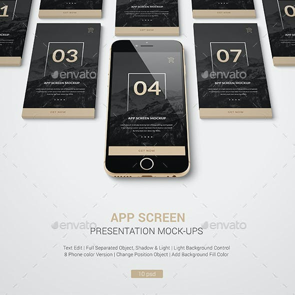 Phone / IPone Mockup / UI / Web Showcase / App Screen Mockup