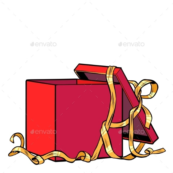 Red Gift Box - Miscellaneous Vectors