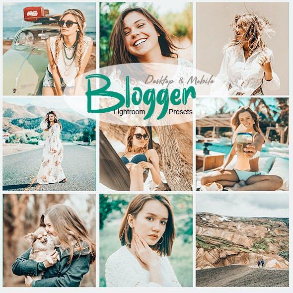 Blogger Lightroom Preset for Desktop & Mobile