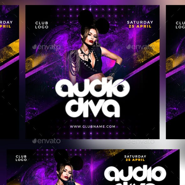 Dj Guest Facebook Cover and Instagram