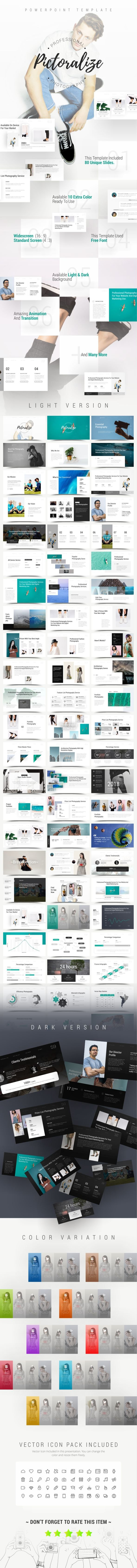 Pictoralize Photography PowerPoint Template - PowerPoint Templates Presentation Templates