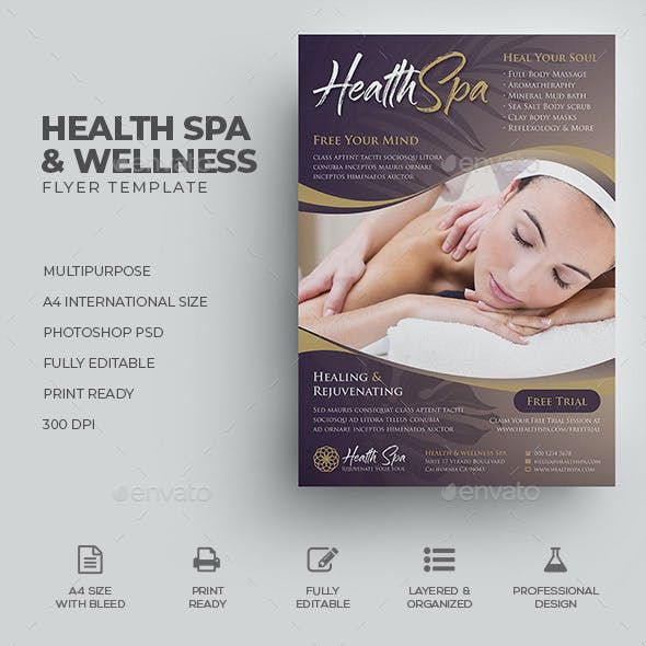 Wellness & Spa Flyer