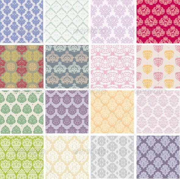 Seamless Retro Patterns - Patterns Decorative