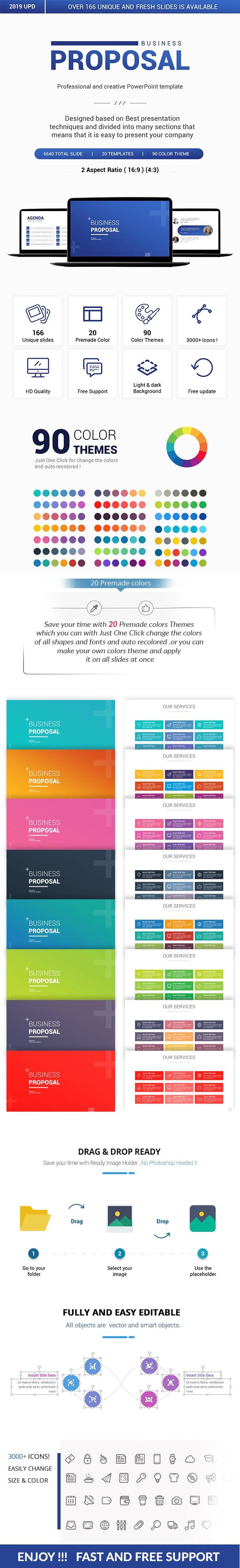 Business Proposal PowerPoint Presentation Template - Business PowerPoint Templates