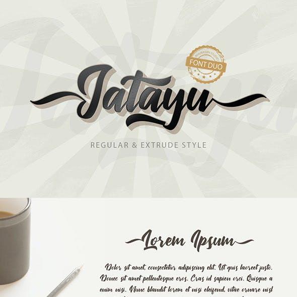 Jatayu Script Font Layered