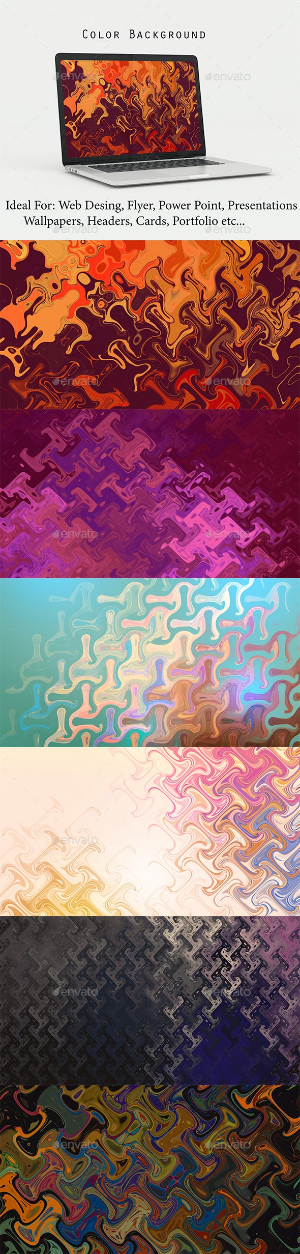 Color Background - Abstract Backgrounds