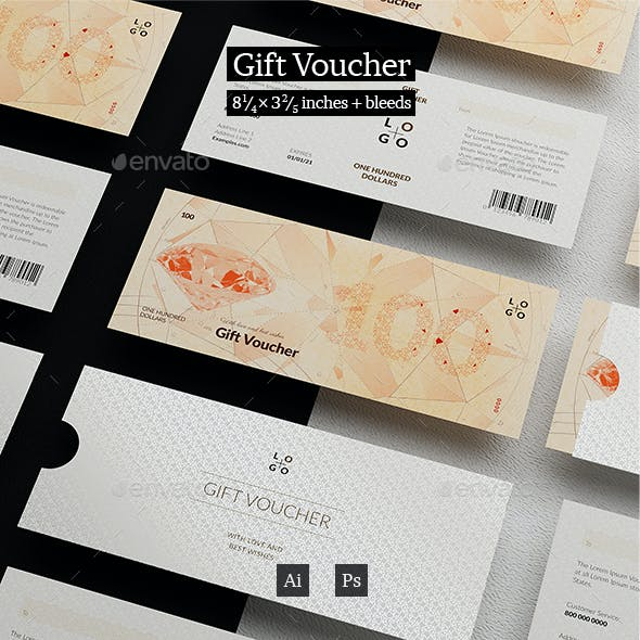 The Jewellery Gift Voucher