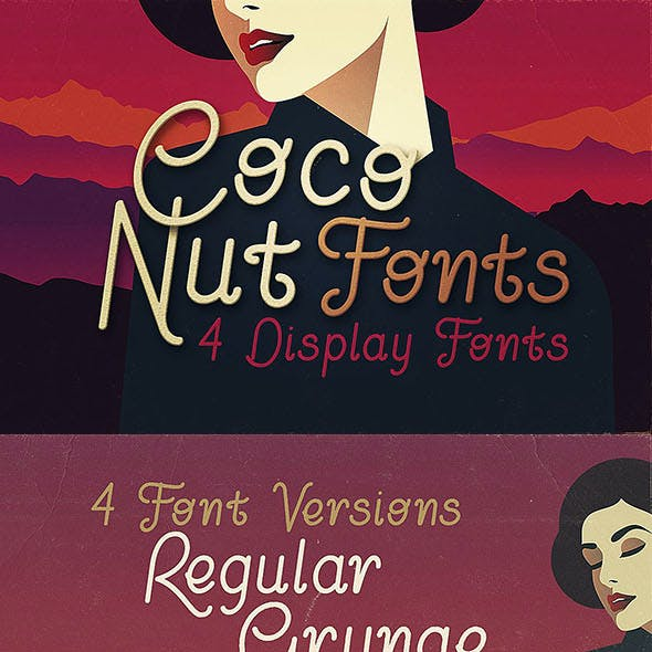 Font Sans-Serif Fonts from GraphicRiver (Page 22)
