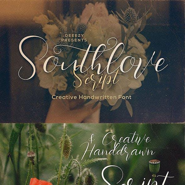 Southlove Script Font
