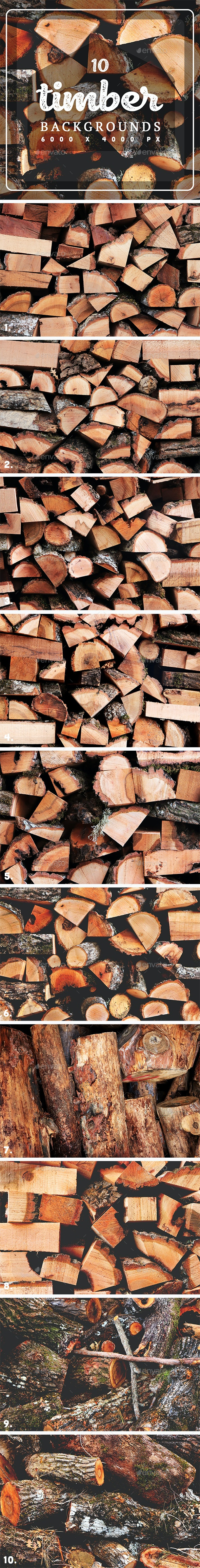 10 Timber Backgrounds - Backgrounds Graphics